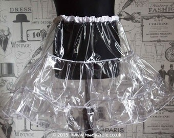 Clearly A Petticoat - Crystal PVC Petticoat - Hand Crafted to Any Size