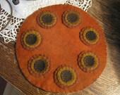 Pumpkin Penny Rug, FAAP, OFG, HAFair