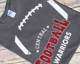 Custom football shirt