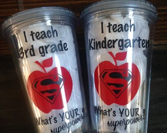 I teach whats your superpower? Tumbler