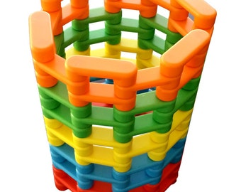 Magz Bricks 60 Magnetic Building Set containing 60 magnetic blocks
