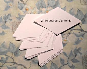 6 pt Star -60 degree Diamond Paper Templates