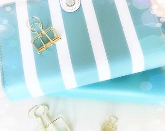 Set of 3 Brass skeleton clips...