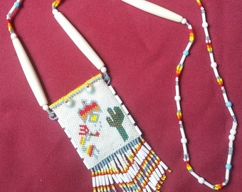 Beaded Spirit bag (#62)