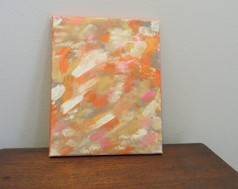 """Painted Canvas (8"""" X 10"""")"""