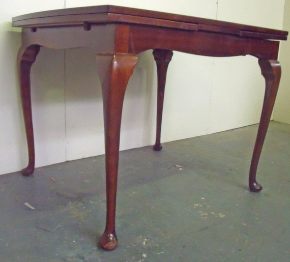 Mahogany Extending Dining RoomKitchen Table with by  : il570xN813326562l102 from www.etsy.com size 570 x 515 jpeg 44kB
