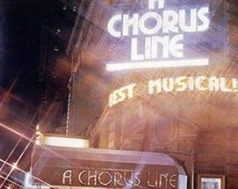A Chorus Line. Original Poster. 1978