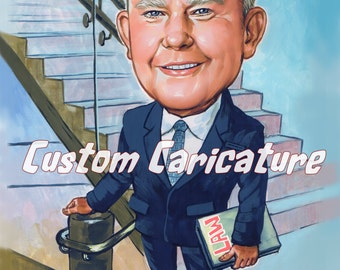 Custom caricature 1person