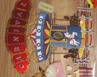Carnival Themed Sticker Lot