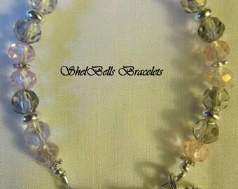 Handmade Rondelle Medical Alert ID Replacement Bracelet