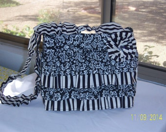 Ruffled purse for sale