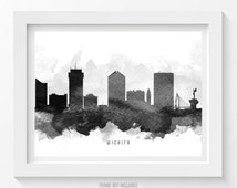 home decor stores in wichita ks popular items for wichita poster on etsy 13372