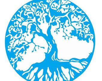 Tree of Life Decal for Cars, Walls, and Windows: Yoga and Meditation Decals,  Yoga and Meditation Gifts, Tree of Life Gifts u0026 Decor