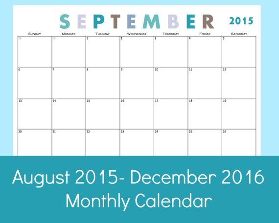 570 x 456 jpeg 35kB, Monthly Calendar Printable 2015 Monthly Calendar ...