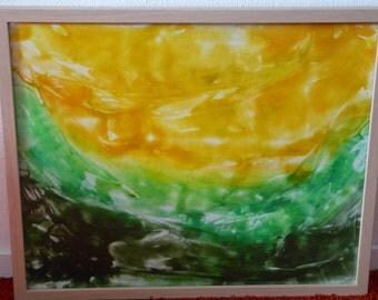Flow series painting Comfort 40 x 50cm