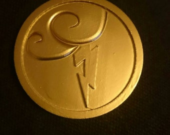 Disney's Hercules Inspired 3D Printed Belt Medallion