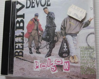 BELL BIV DEVOE Poison Cd 1990 Out Of Print Hip Hop Rap R&B Free Post in Australia