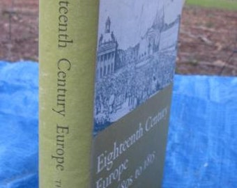 1966 Eighteenth Century Europe The 1680s To 1815 Stuart Andrews Enlightenment French Revolution Catherine The Great Ex Library History Book