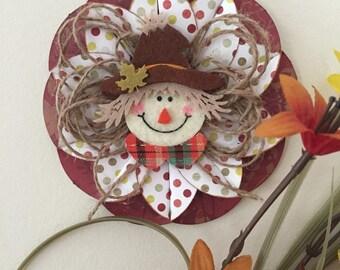 Autumn Scarecrow Ornament