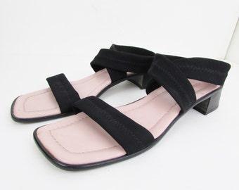 Vintage Donald J Pliner Leather Sandals Woman's 7.5 M