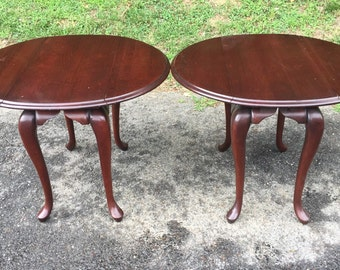 Pair of French Folding Sides End Tables