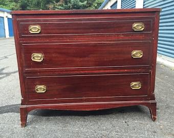 Vintage JB VanSciver 3 Drawer Dresser