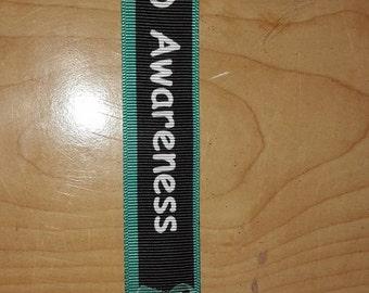 Post Traumatic Stress Disorder-PTSD Lanyard/key chain/ID Badge holder