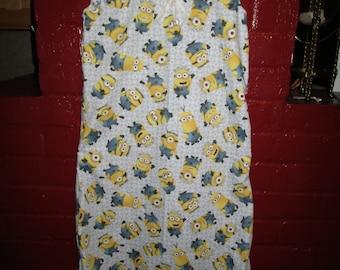 Minion Summer Nightgown Girls size 5/6
