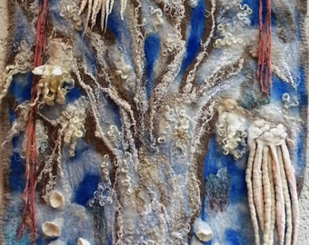 "Spirit Trees..'Tree of Dreams' 25"" x 59"""