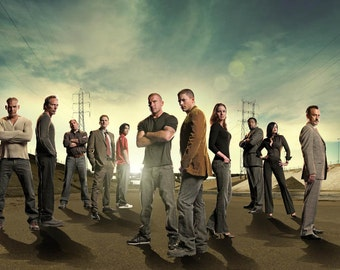 Prison Break Cast TV Series Poster 24x35 Printing