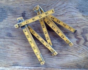 Vintage, Stanley, Zig-Zag, Wood, Folding Ruler, #227