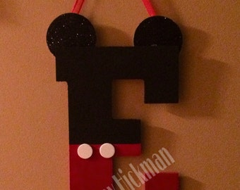 Mickey Mouse letter 10.5 inches tall