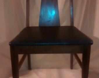 Mid century modern danish chairs made by Bassett