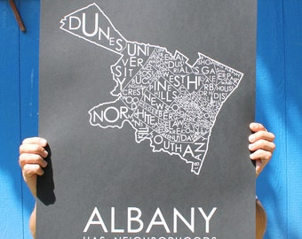 Albany Has Neighborhoods - BLACK!