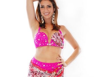 Wild Lady of the Night Belly Dance Costume