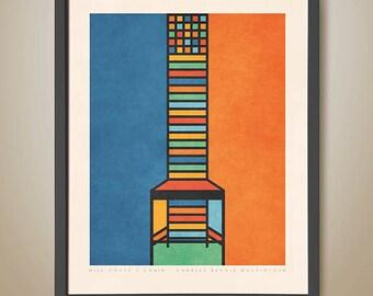 Hill House 1 Chair - Charles Rennie Mackintosh