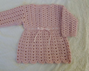 Crochet PATTERN - Crochet Baby Dress Pattern - Crochet Dress Pattern - Baby Dress Pattern