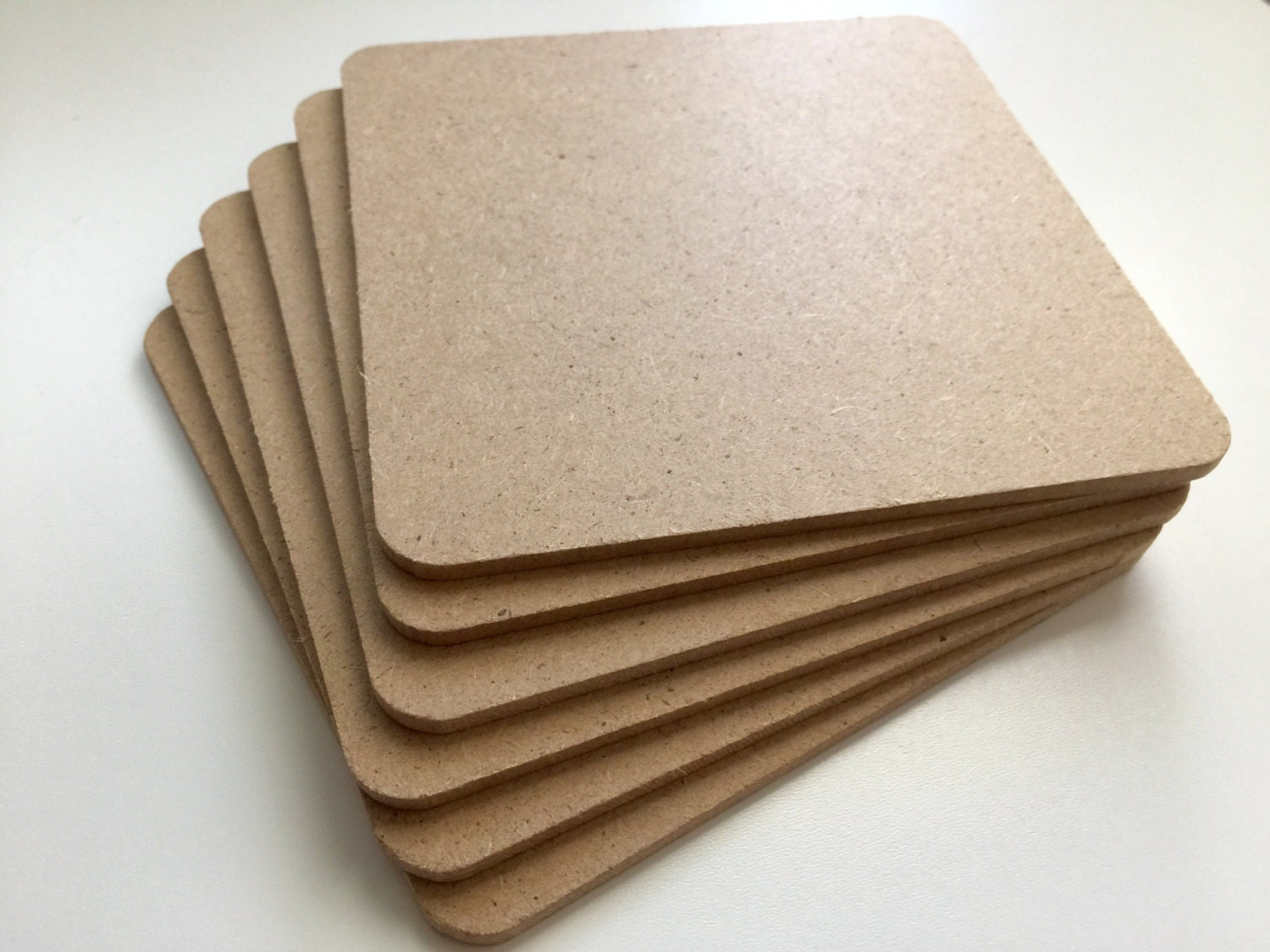 Bulk blank coasters perfect for stamping or painting on for Craft supplies online cheap