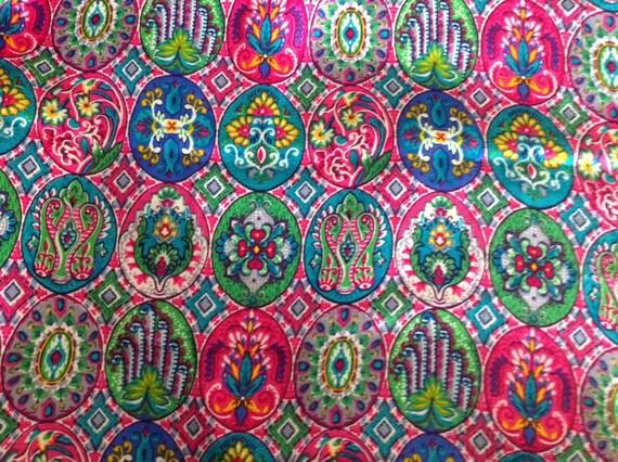 multicolore indien doux tissu de coton tissu de coton indien. Black Bedroom Furniture Sets. Home Design Ideas