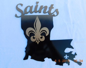 New Orleans Saints 3 D Wall Sign