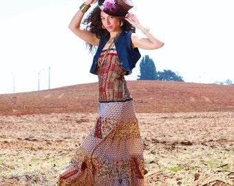 Gypsy maxi dress  Etsy