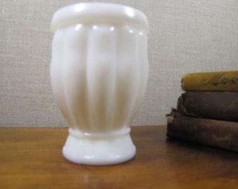 Vintage Milk Glass Egg Cup - Vase