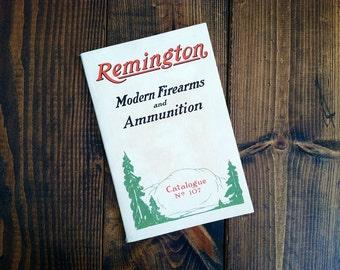 Remington Modern Firearms and Ammunition Catalogue - 1923