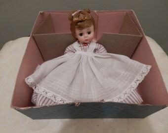 """Madame Alexander 8"""" Little Women Meg 1960s"""