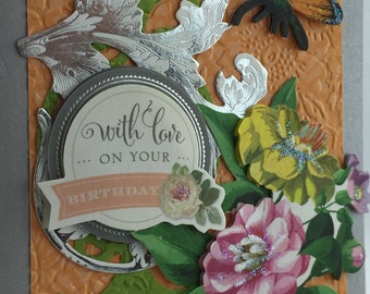 Handmade Greeting Card Birthday #218