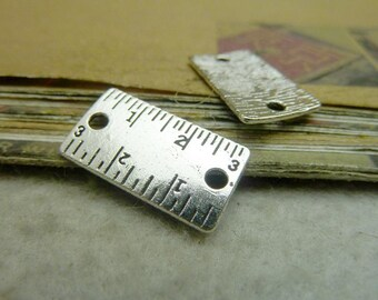 20pcs 12x21mm Ruler Charms Pendant A