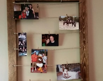 Handmade Photo Board / Picture frame