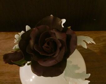 Sugar flowers - gumpaste roses wedding cake topper
