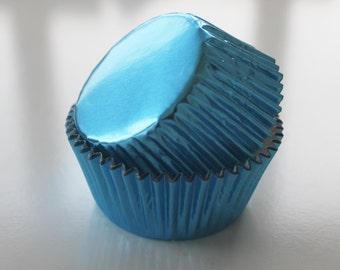 LIGHT BLUE Cupcake Liners