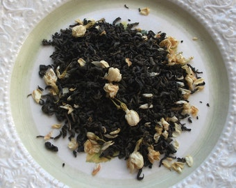 Poet's Jasmine: Organic green tea with jasmine blossoms